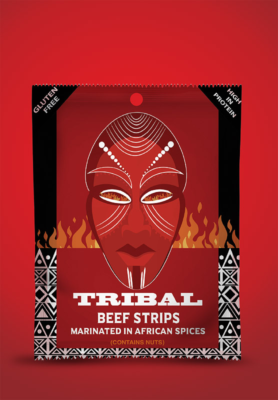Tribal Beef Strips